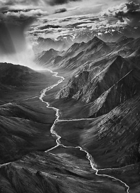 Sebastião Salgado, 'The Eastern Part of the Brooks Range, Arctic National Wildlife Refuge, Alaska, USA', 2009, Photography, Gelatin silver print, Sundaram Tagore Gallery