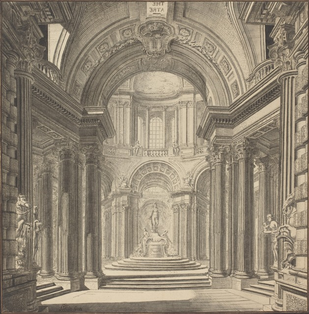 Pierre Varin, 'Interior of a Temple', ca. 1750, National Gallery of Art, Washington, D.C.