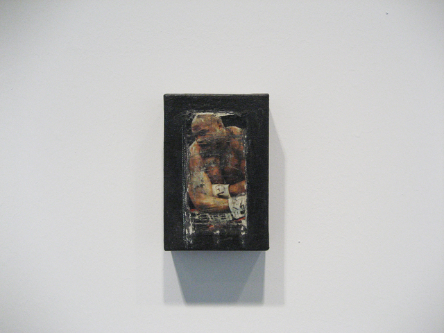 Alan Vega, 'Boxer', 2011, Painting, Acrylic paint, collage and varnish on canvas, Galerie Laurent Godin