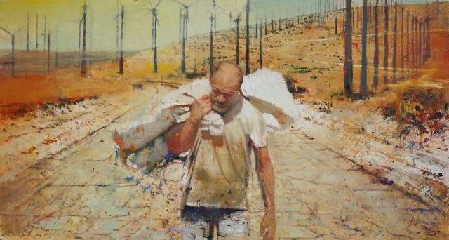 Tom Birkner, 'Walking Man', 2017, Asher Grey Gallery