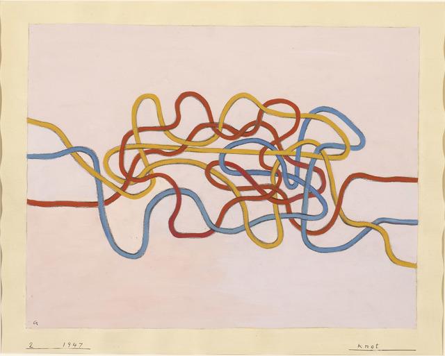 , 'Knot,' 1947, Guggenheim Museum Bilbao