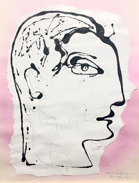 , 'Pink & grey profile ,' 1992, Absolut Art Gallery