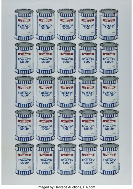 Banksy, 'Tesco Value Cream of Tomato Soup, poster', 2006, Heritage Auctions