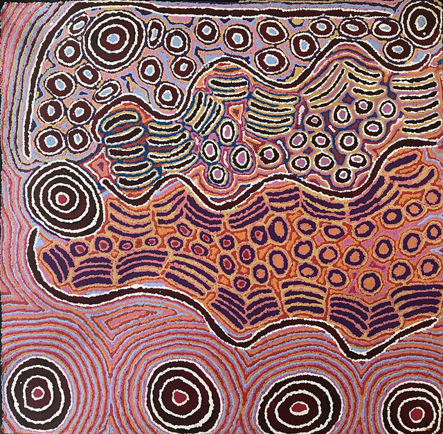 , 'Alice Nampijinpa Michaels - Lappi Lappi Jukurrpa #783-17ny ,' 2017, Flinders Lane Gallery