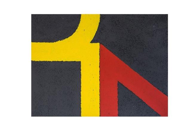 , 'Road markings VII,' 2017, Absolut Art Gallery