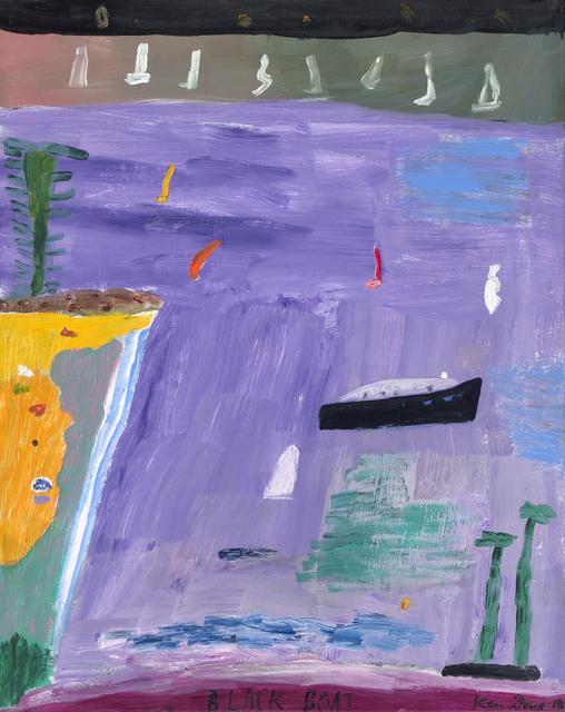 Ken Done, 'Black Boat ', ca. 2019, Gallery One Australia