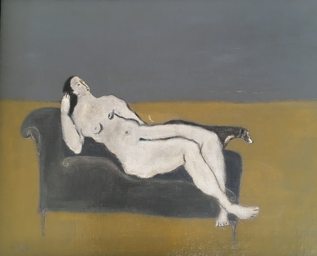 , 'Seaside, Chaise and Dog,' 2019, Emmanuelle G Gallery