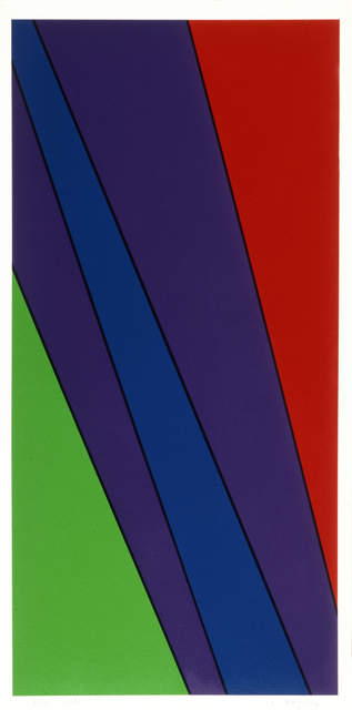 Olle Baertling, 'ayarua', 1972-1979, Edition & Galerie Hoffmann