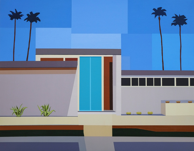 , 'Palm Springs House III,' 2017, Cynthia Corbett Gallery