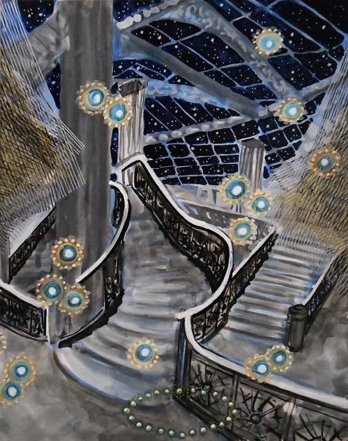 ", '""Starry Night"" from Cosmic Encounter 16-K-24,' 2016, Anita Shapolsky Gallery"