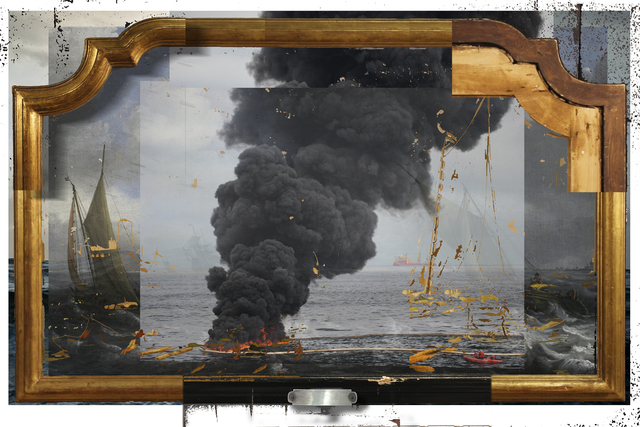 , 'Video Frame: Oil and Water,' 2018, Catharine Clark Gallery