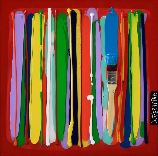 , 'Code barre,' 2016, Bouillon d'Art Galerie