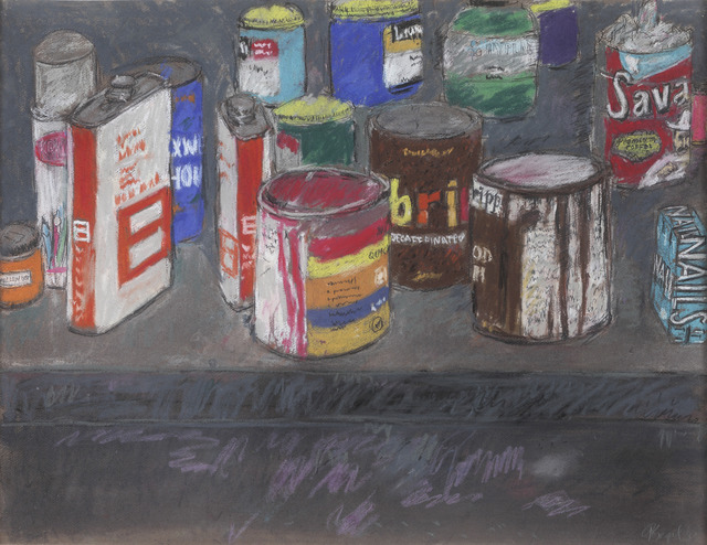 , 'Paint Cans and Nails,' 1983, Jill Newhouse Gallery