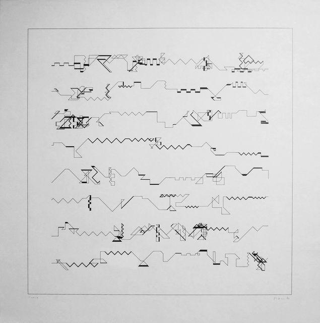 , 'P-021+,' 1970, bitforms gallery
