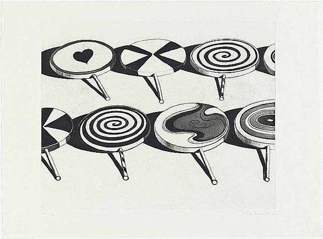 , 'Black Suckers (from Seven Still Lifes and a Silver Landscape),' 1971, Berggruen Gallery