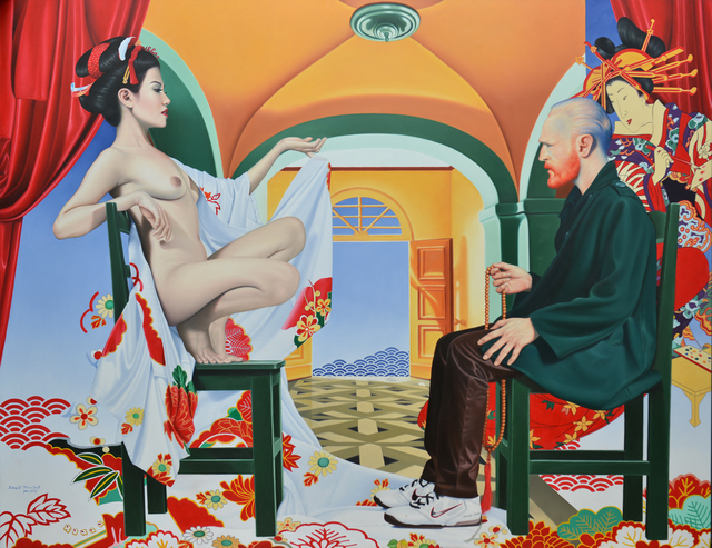 , 'The Origin of the Japonaiserie #2,' 2016, Srisasanti Syndicate