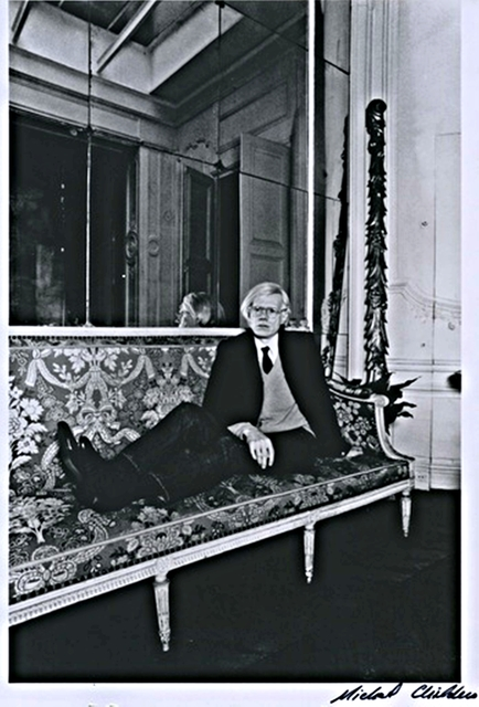Michael Childers, 'Andy Warhol in Paris. from Palm Springs Art Museum ', 1976-1980, Alpha 137 Gallery