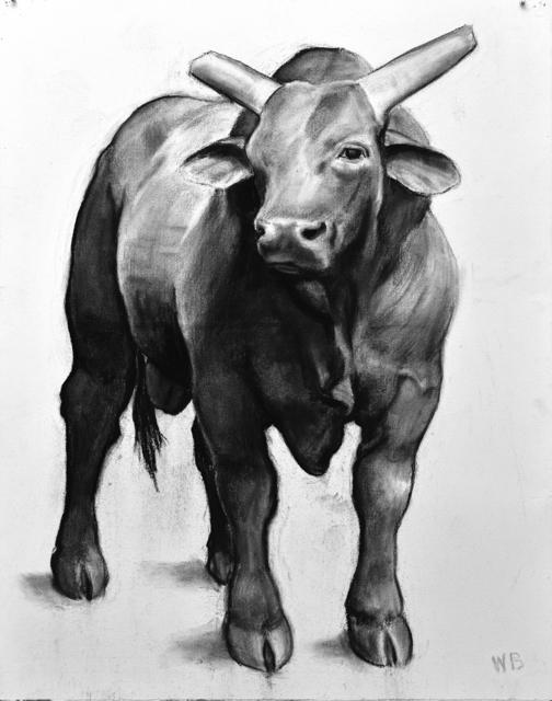 , 'Bull: Wyoming,' 2018, Forum Gallery
