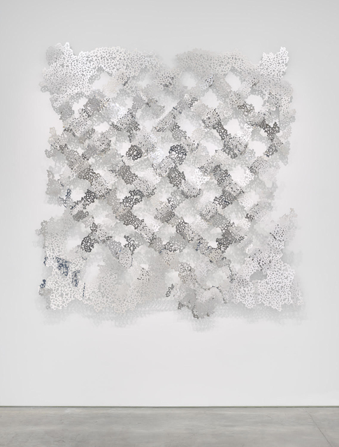 Teresita Fernández, 'Untitled (Fence)', 2018, Anthony Meier Fine Arts