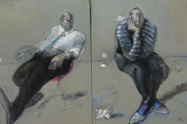 , 'Les bruits de couloir (diptyque) ,' , Hugo Galerie