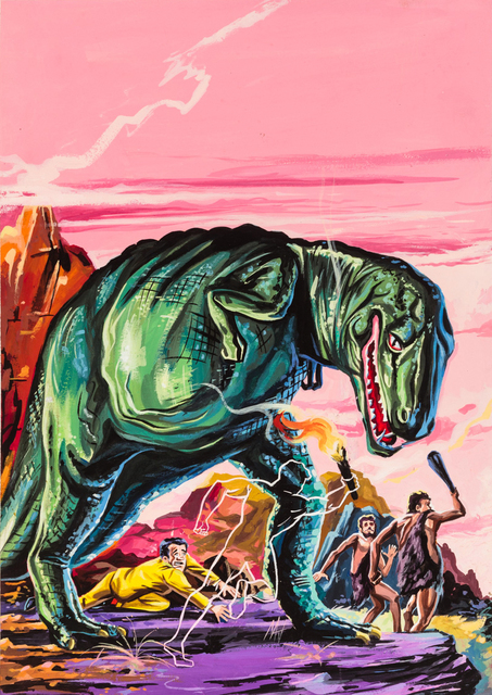 , 'Untitled (Dinosaur attack),' c. 1960-75, Ricco/Maresca Gallery