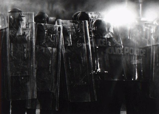 Robert Longo, 'Untitled (Riot Cops)', 2017, Artsnap
