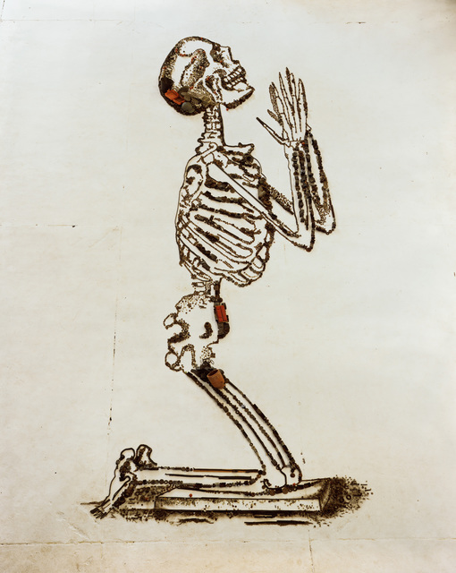 , 'Praying (The Anatomy of Bones), after William Cheselden (Pictures of Junk),' 2009, Sikkema Jenkins & Co.