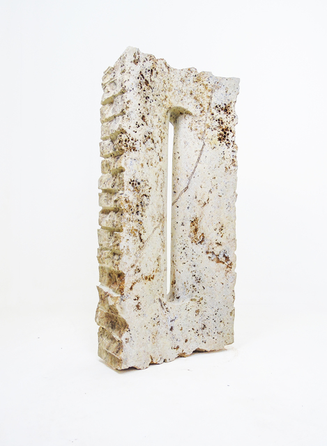 Fernando Pinto, 'Vertical Horizon', 2018, Sculpture, Yellow Travertine, Ministry of Nomads