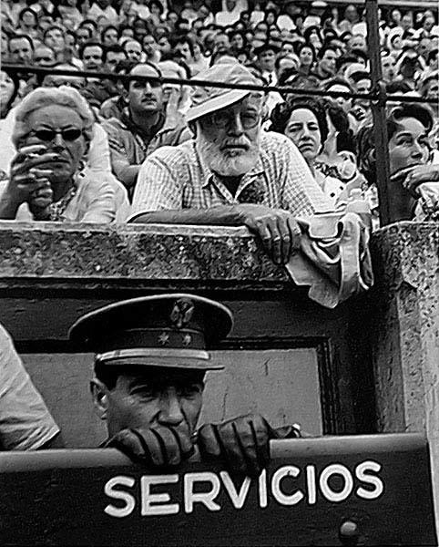 , 'Ernest Hemingway - Pamplona,' 1950, Photo Lounge