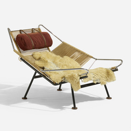 Early Flag Halyard lounge chair
