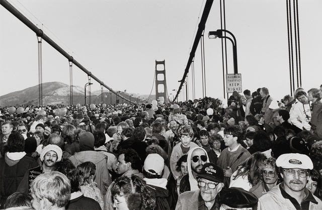 , 'Golden Gate Bridge Fiftieth Anniversary,' 1987, San Francisco Museum of Modern Art (SFMOMA)