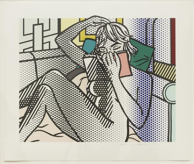 Roy Lichtenstein, 'Nude Reading (C. 288)', 1994, Diane Rosenstein