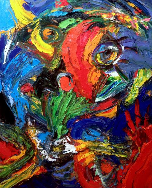 , 'Le Tigre est dans le Pre,' 2015, Galerie Kellermann
