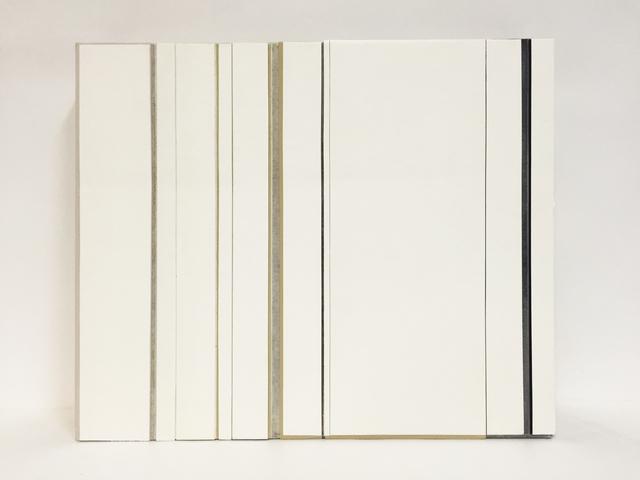 Ke Liu 刘可, 'Double Screen White (I)', 2016, L+/ Lucie Chang Fine Arts