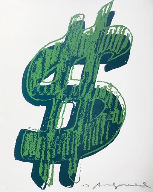 Andy Warhol, '$ (1) II.278', 1982, Hamilton-Selway Fine Art
