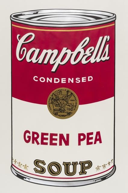 Andy Warhol, 'Campell's Soup I. Green Pea (Feldman & Schellmann)', 1968, Forum Auctions