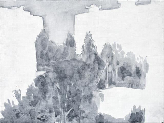 Milda Gailiūtė, 'Sleeping District', 2017, Painting, Oil on canvas, Meno parkas