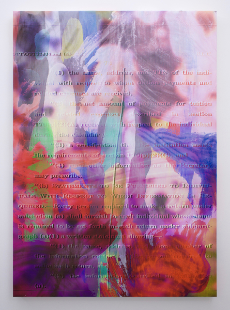 , 'Manifold Painting (Merge Visible),' 2017, Romer Young Gallery