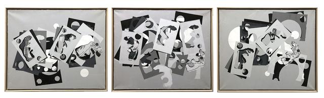 , 'Samothrace Frieze I, II & III (Triptych),' 1988, LatchKey Gallery