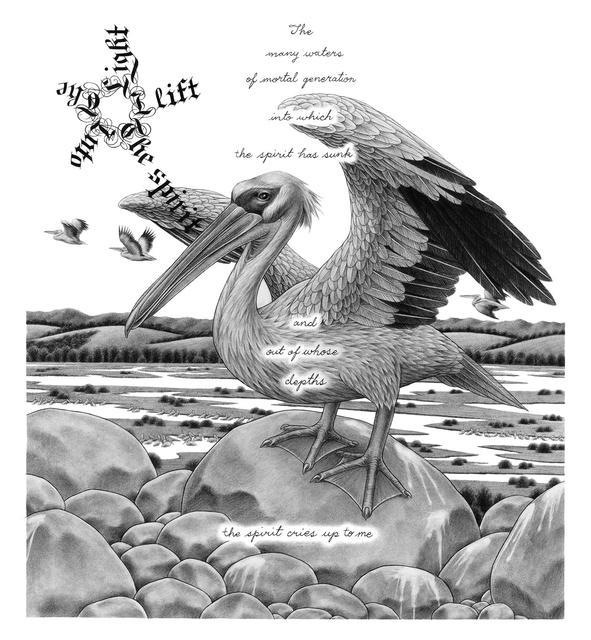 , 'Great White Pelican,' 2014, Koplin Del Rio