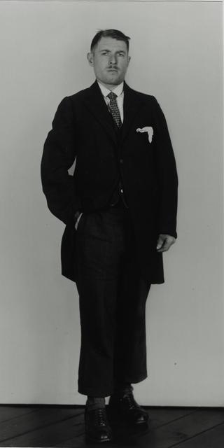 August Sander, 'Member of a Splinter Party, 1931', Galerie Julian Sander