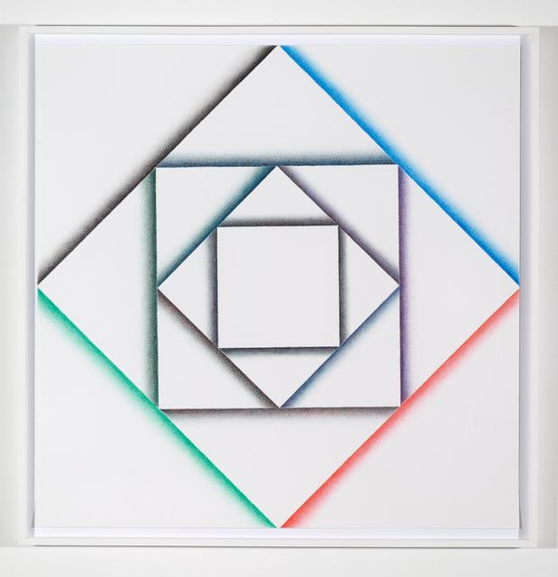, 'Rautenquadrat,' 2017, Philipp von Rosen Galerie