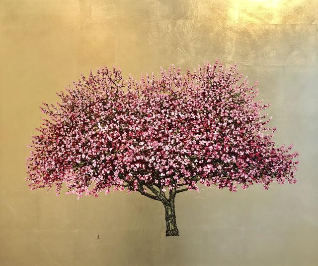 , 'Cherry Blossom Gold,' 2017, Urbane Art Gallery