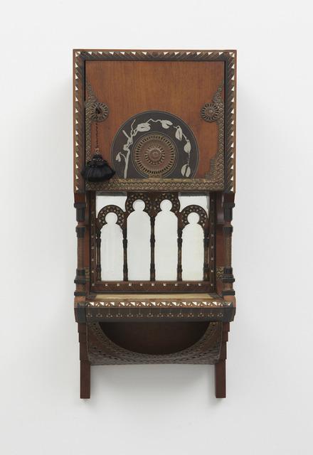 , 'Wall-mounted cabinet,' ca. 1900, Sebastian + Barquet