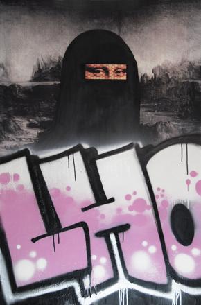 , 'Mona Burqa,' 2008, Galerie Hervé Lancelin
