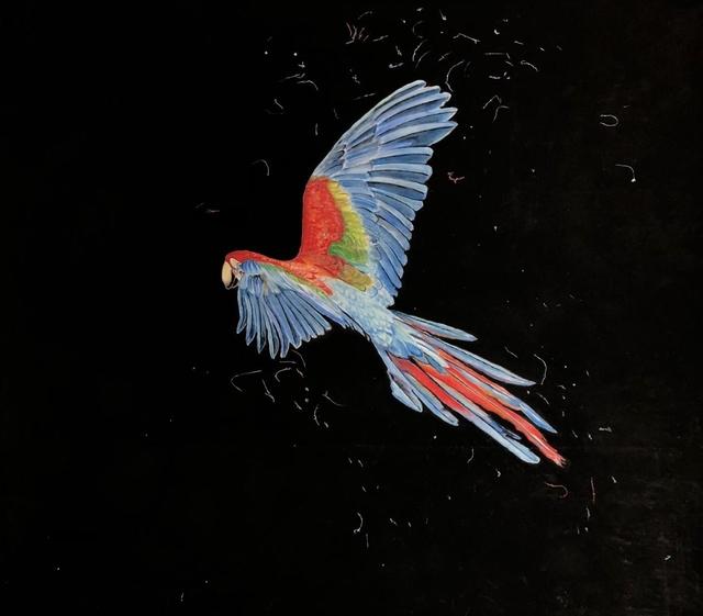Kilian Glasner, 'No title II', 2020, Painting, Pastel on paper, Galeria Lume