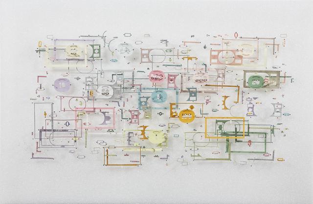 , ' Disassembled money,' 2018, Piero Atchugarry Gallery