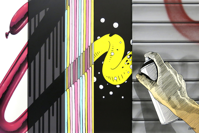 , 'ESSENTIALS IN GRAFFITI – SPONTANEITY,' 2016, KOLLY GALLERY