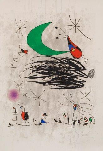 Joan Miró, 'Saturnale d' Insectes [Dupin 746]', 1975, Roseberys