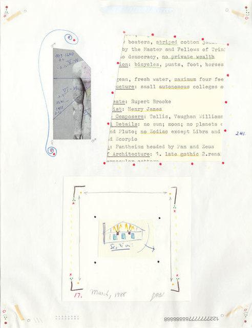 , 'untitled n°241 (both sides),' 1988, christian berst art brut